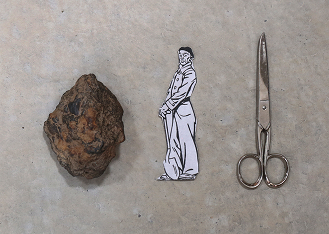 pedra paper tisores